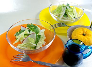 白菜サラダのポン酢和え