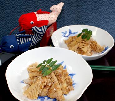 新タケノコの土佐煮