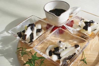 仙台白菜の海苔サラダ