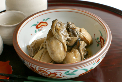 牡蠣の当座煮