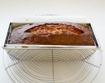 キャラメルナッツパウンドケーキ