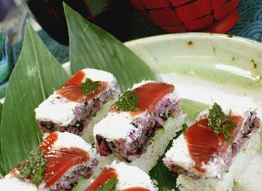 かつおの棒寿司